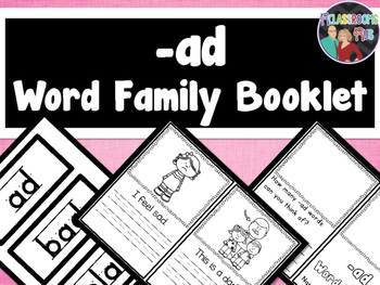 Word Family Booklet -ad
