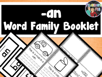 Word Family Booklet -an
