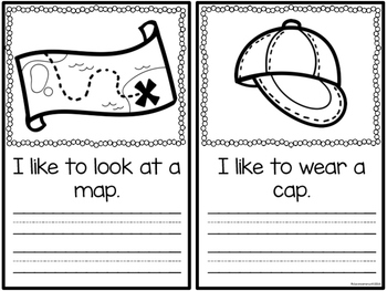 Word Family Booklet -ap