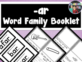 Word Family Booklet -ar