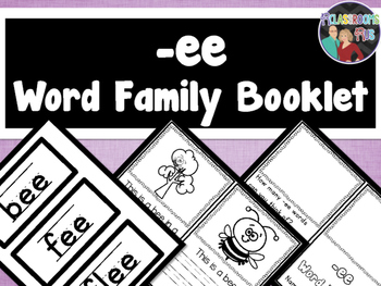 Word Family Booklet -ee