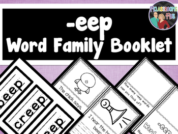 Word Family Booklet -eep