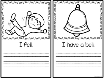 Word Family Booklet -ell