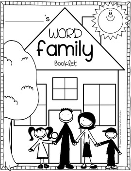 Word Family Booklet: featuring the top 25 word families