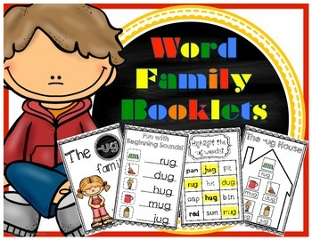 Word Family Booklets