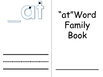Word Family Books 1