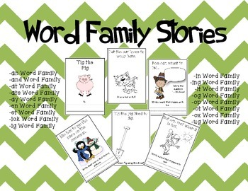 Word Family Books