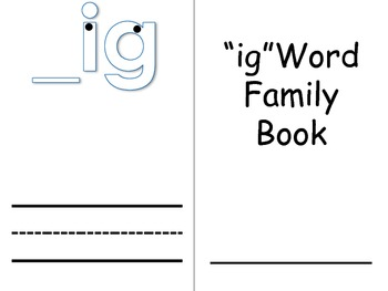 Word Family Books 3