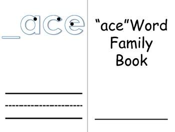 Word Family Books 4