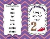 "Word Family Books - Long u #7 ""o"" ""oe"""