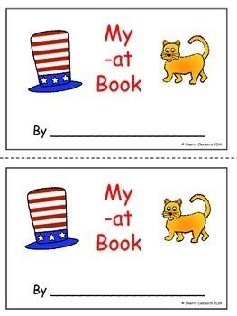 Word Family Books BUNDLE (-at, -ed, -ip, -op, and -ug)