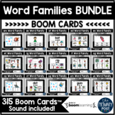 Word Family Boom Cards™ BUNDLE   Distance Learning