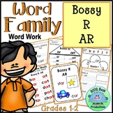 Word Family Bossy AR WORD WORK INTERACTIVE NOTEBOOK PRINTABLES ASSESSMENTS