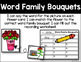 Word Family Bouquets - Rhyming Word Identification