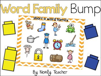 Word Family Bump