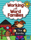 CVC Word Families- Bundle