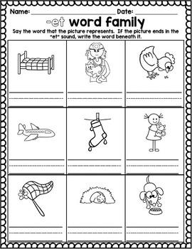 CVC Word Families- Bundle