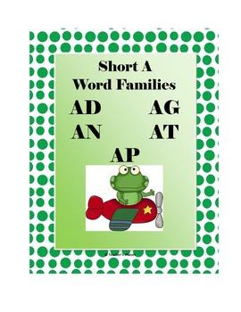 Short Vowel Word Family Bundle!