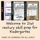 Kindergarten 15 Activities Word Family Bundle Short -A-, -UT-, AM