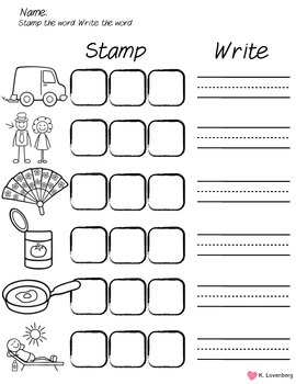 Word Family Bundle with Emergent Reader (-an)