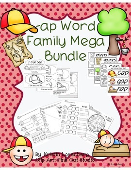 Word Family Bundle with Emergent Reader (-ap)