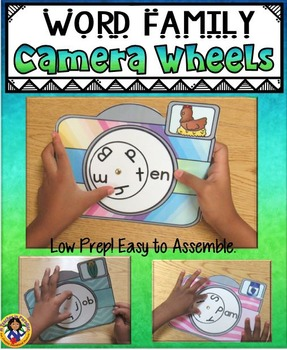 Word Family Camera Wheels Set