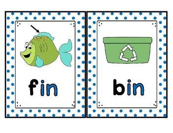 Word Family Card Bundle