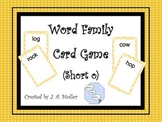 Word Family Card Game (Short o)