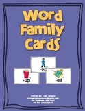 Word Family Cards/Posters