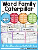 Word Family Caterpillar
