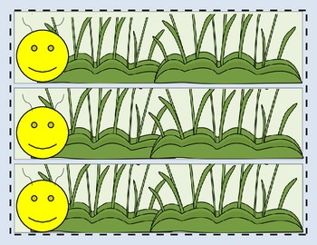 Word Family Caterpillars 1