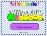 Word Family Caterpillars 1