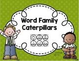 Word Family Caterpillars
