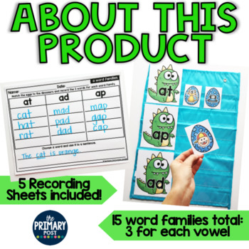 Word Family Centers