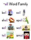 Word Family Charts (Set 2)