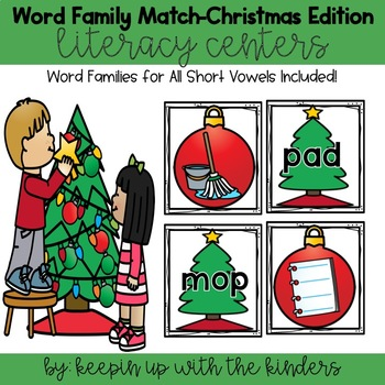 Word Family-Christmas Edition!