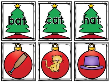 Word Family-Christmas Edition!