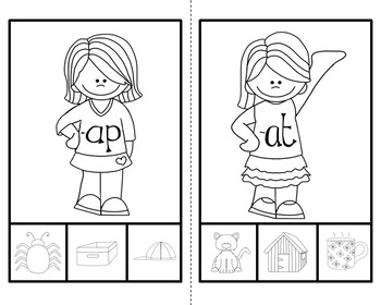 Word Family (Clip Activity Pack)