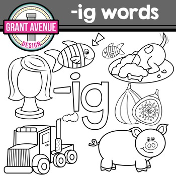 Word Family Clip Art