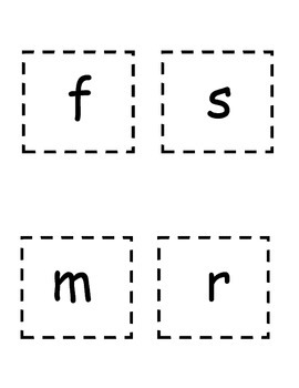 Word Family Flip Cards   -at