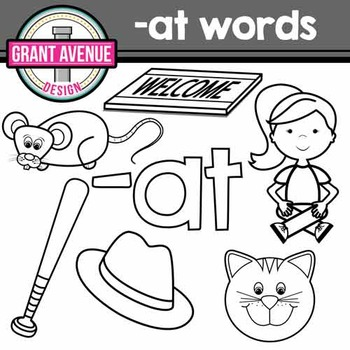 Word Family Clipart