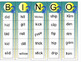 Word Family & Common Rimes Short A, O, I Vowels (Word List & Bingo)