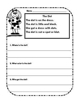 Word Family Comprehension