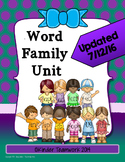 Word Family Unit for Beginning Readers {Kindergarten}