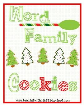 Word Family Cookies