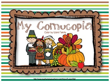 Word Family Cornucopia