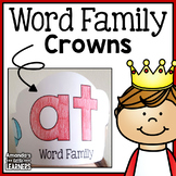 Word Family Crowns