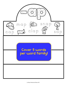 Word Family Crowns - Fun Introduction to Word Families