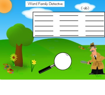Word Family Detective (ab)