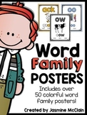 Word Family Posters